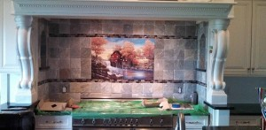 IMG 20140422 150716 224 4 300x147 Kitchen Back splash tile installations